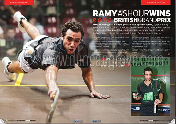 International Squash Magazine Dec 2011 - click to view free digital edition.