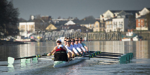 The Cambridge Blue Crew on a Practice Outing.