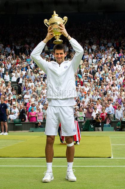 Novac Djokovic, Wimbledon Champion 2011.