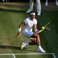 Wimbledon, London, UK. 09 July 2018.  The Wimbledon Tennis Championships 2018.