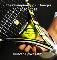 Front cover - Wimbledon in Images - Duncan Grove