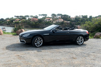 04.10.201.5 BMW six-series convertible on the French Riviera.
