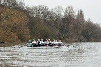 23.03.2016. The Boat Race. The Cancer Research UK Boat Races 2016.