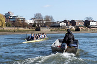 25.03.2016. The Boat Race. The Cancer Research UK Boat Races 2016.