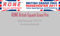 Official Photographer - ROWE British Squash Grand Prix 2011.