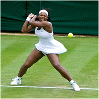 Serena Williams, Ladies' Singles, Wimbledon 2007.