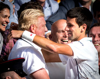 The Wimbledon Champion and his Coach, 06.07.2014.