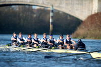 10.12.2014. Oxford University Boat Club - Men's Trial VIIIs.