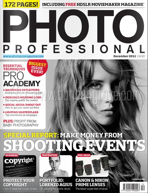 Photo Professional magazine December 2011.