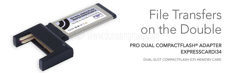 Sonnet Technology Pro Dual Compact Flash 886x ExpressCard34