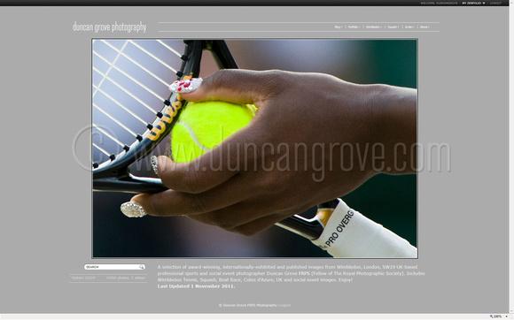 www.duncangrove.com home page.