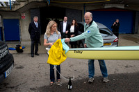 02.04.2014.  CUBC Boat Naming ceremony prior to the Universities Boat race to be held 6 April 2014.