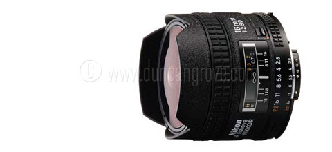 Nikon Nikkor 16mm fisheye 480x220