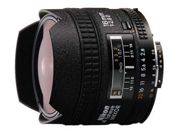Nikon Nikkor 16mm f/2.8 fisheye