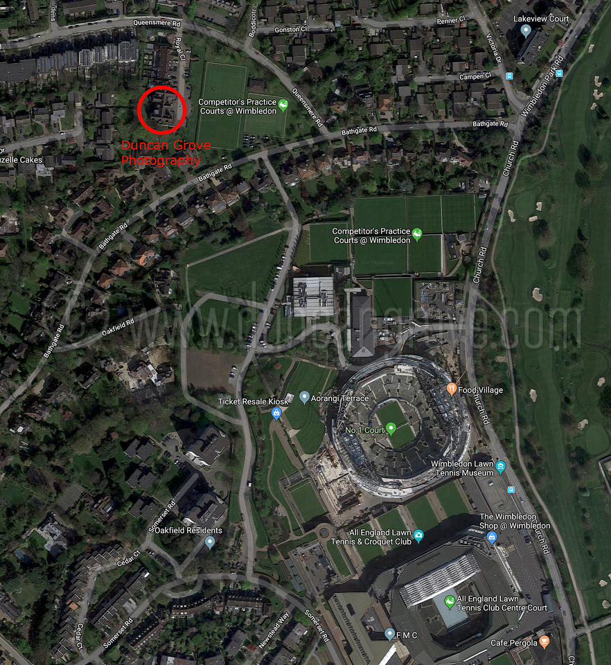 DGP_Wimbledon satelite view