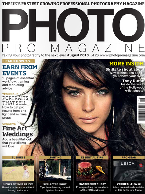 Photo Pro cover Aug 2010