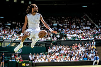 Dustin Brown, Wimbledon Tennis 05/07/2017.