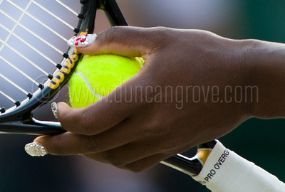 Serena Williams's fingernails